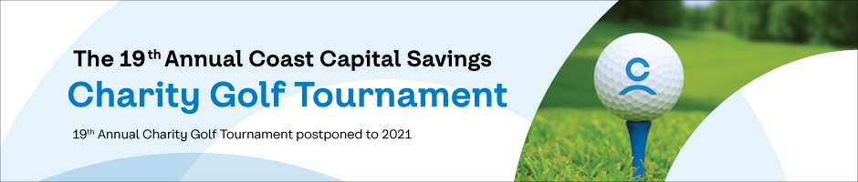 2020 Coast Capital Savings Charity Golf Tournament